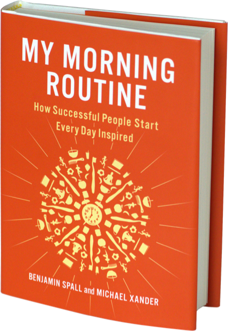 Book Cover of My Morning Routine